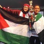 (Foto) Palestina Juara Sempoa Dunia