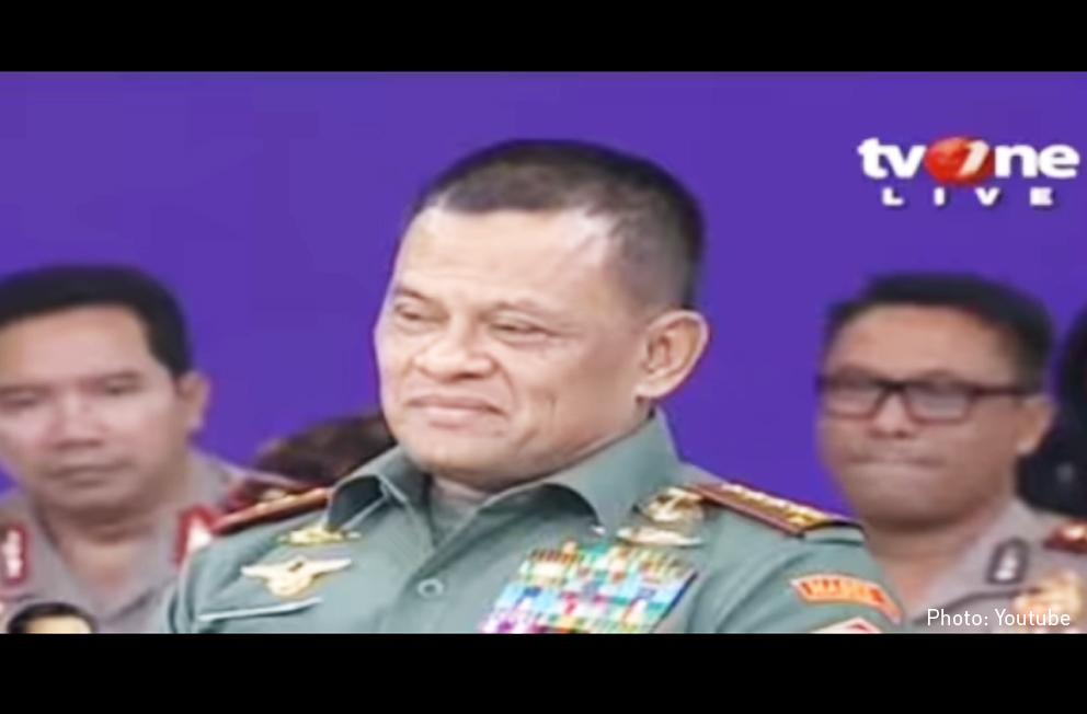 Panglima TNI, Jenderal Gatot Nurmantyo