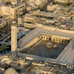 (Foto) Inilah Kondisi Masjid Umawi yang Bersejarah Sebelum dan Sesudah Serangan di Aleppo