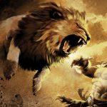 Seorang Muslim yang Bertarung dan Melumpuhkan Seekor Singa