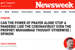 Newsweek puji cara Rasulullah tanggulangi wabah
